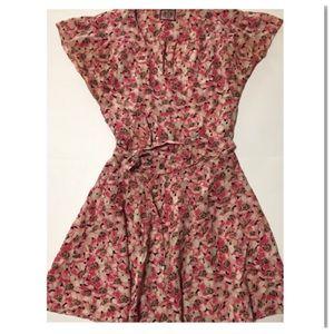 Juicy Couture Floral Mini Dress